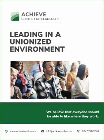 Image of Leading in a Unionized Environment manual