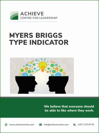 Image of MBTI Myers Briggs Type Indicator manual cover