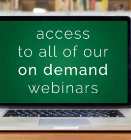 Photo of computer - Access all of our on demand webinars, ACHIEVE Centre for Leadership & Workplace Performance