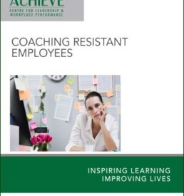 Image of Coaching Resistant Employees workshop manual