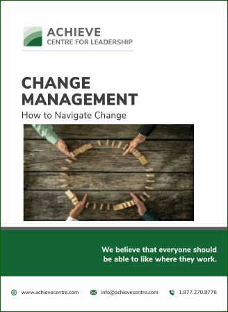 Image of Change Management How to Navigate Change E-Manual