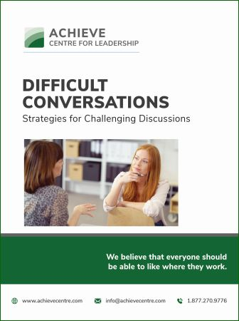 Manual cover image for Difficult Conversations