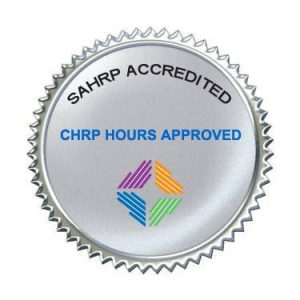 SAHRP Accreditation logo for our workshops