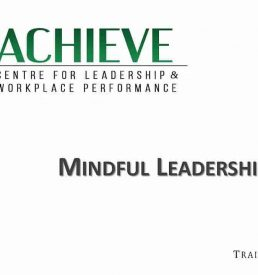 Photo of webinar Mindful Leadership