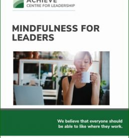 Mindfulness for Leaders e-manual cover