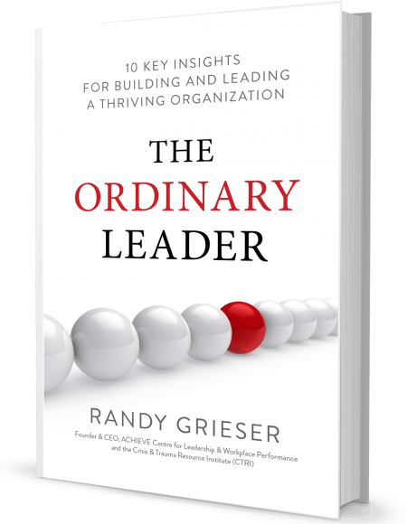 Image of the book, The Ordinary Leader by Randy Grieser