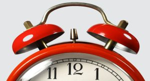 Image of clock for Time Management workshop