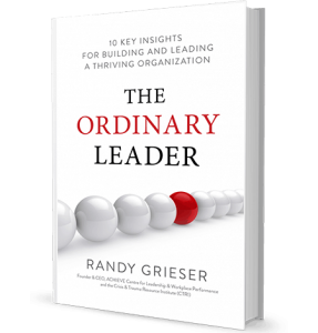 Image of The Ordinary Leader Book, Randy Grieser