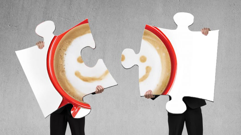 Image of two puzzle pieces of the Culture Question