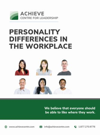Personality Differences in the Workplace manual cover image ACHIEVE