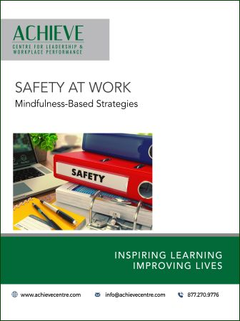 Image of Safety at Work manual cover