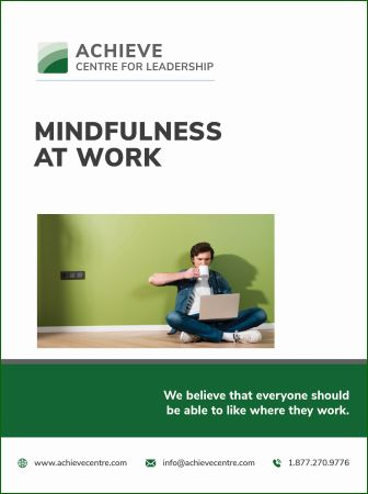 Image of Manual Mindfulness at Work