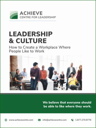 Image of Leadership and Culture manual cover, leadership training