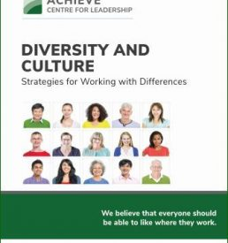 Diversity and Culture manual cover photo