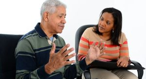 Motivational Interviewing - Strategies for Supporting Change two people talking together
